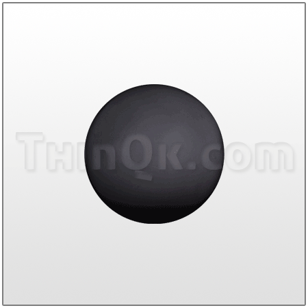 Ball (T773170) SANTOPRENE (BLACK)