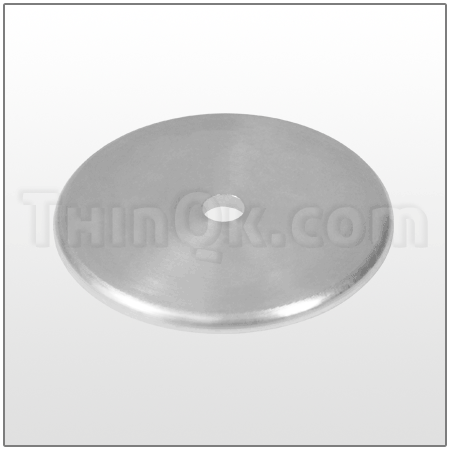 Backplate (T1A007) Carbon steel