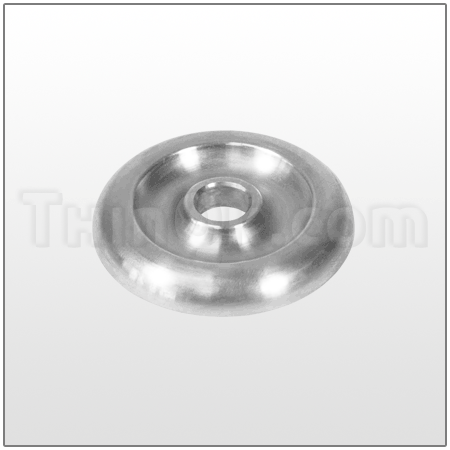 Backplate (T1H114) STAINLESS STEEL
