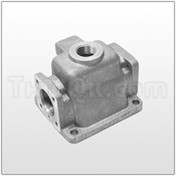 Air Valve housing (T095.043.156) ALU
