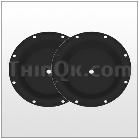 Diaphragm kit (T474.007.360)