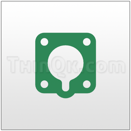 Gasket (T360.010.425) COMPRESSED FIBRE