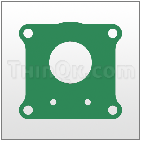 Gasket (T360.011.425) COMPRESSED FIBRE