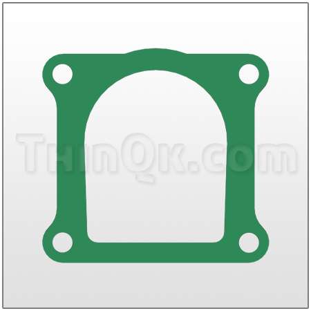 Gasket (T360.012.425) COMPRESSED FIBRE
