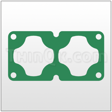 Gasket (T360.017.425) COMPRESSED FIBRE