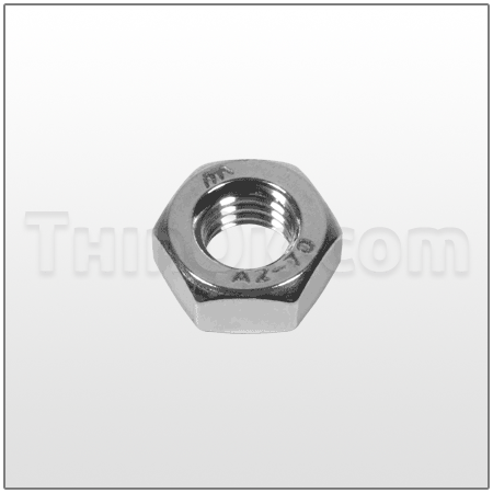 Hex nut (T6-050-37) STAINLESS STEEL
